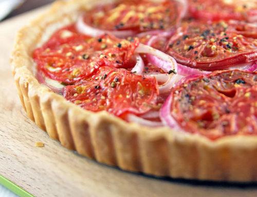 Plăcintă cu roşii, în loc de pizza