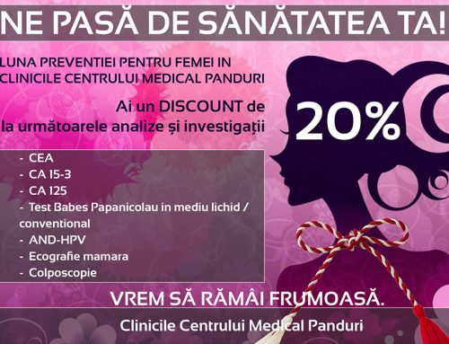 Luna martie luna  preventiei pentru femei in Centrul Medical Panduri